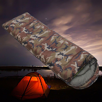 Camouflage Sleeping Bag Equitment Outdoor Waterproof Ultralight Camping|Sleeping Bags| |  -