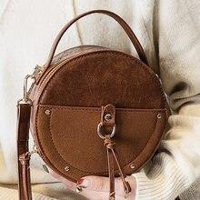 2020 винтажная круглая сумка дизайнерская женская через плечо