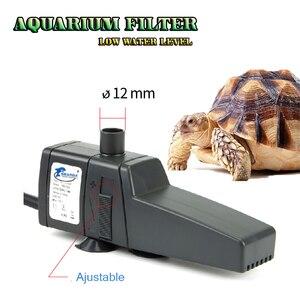 Аквариумный нано фильтр для черепахи/лягушки рептилий аквариумный аквариум фильтр аксессуар мини очиститель воды масляный фильтр насос