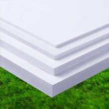 6pc200*300mm Building sand table model materials PVC foam board plastic foam board Andy board, plate making snow building a virtual graded foam