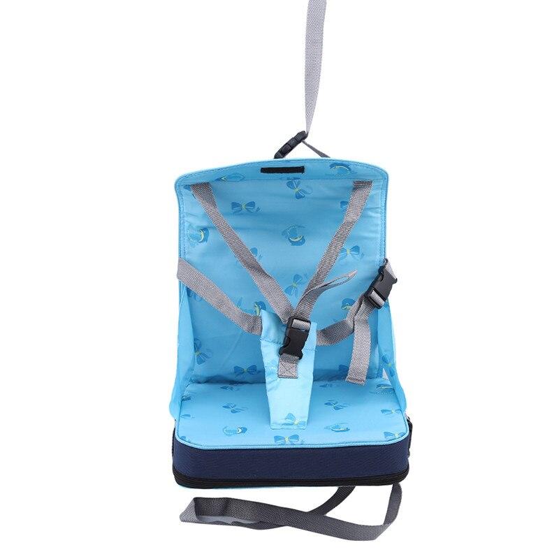 Практичная сумка для детского стула, портативное сиденье для малышей из водонепроницаемой ткани Оксфорд, детский дорожный складной ремень для кормления, высокий стул 3