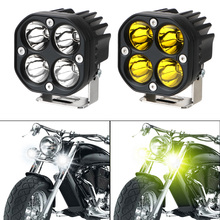 LEEPEE For Car 4x4 Offroad Tractors Motorcycle Accessories LED Work Light Bar Driving