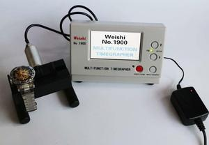 Image 5 - New Coaxial LCD MTG Watch Tester Timing Multifunction Timegrapher WeiShi NO.1900