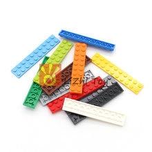 Moc telhas placa 2*10 3832 peça curta diy iluminar tijolos bloco compatível com monta partículas 80 peças