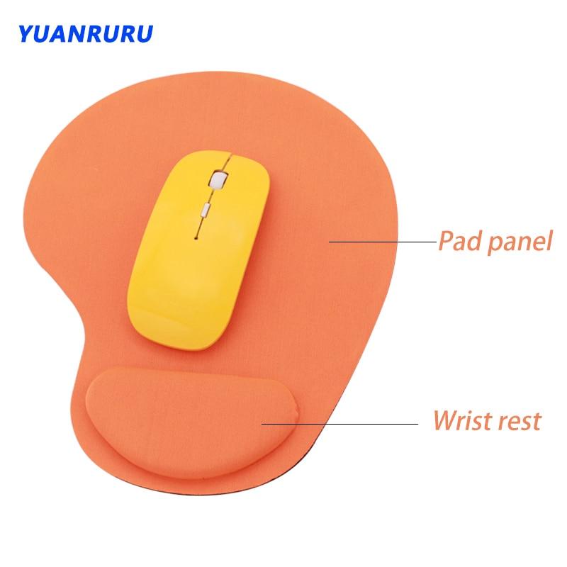 Коврик для мыши с подставкой на запястье для компьютера ноутбука клавиатуры ноутбука коврик для мыши с подставкой для рук Коврик Для Мыши и...
