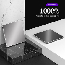 Power-Bank External-Battery-Charger Mobile-Phone Xiaomi Rechargeable 10000mah Ultra-Thin