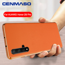 For Huawei Honor 20 Pro V30 P40 Lite P20 P30 Mate 20 30 Pro Case Luxury Leather Full Protection Plating Edge Soft Back Cover luxury leather phone cover case for huawei mate 30 pro p30 p40 pro lite v30 pro case soft silicone plain fashion back cases