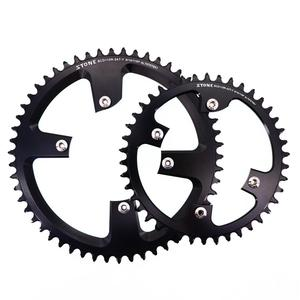 Image 5 - Stone 110 BCD Round Chainring for Shimano R7000 r8000 r9100 34 36 38 42t 48t 50t 54t 56t 58t 60T tooth Road Bike 12s 110bcd