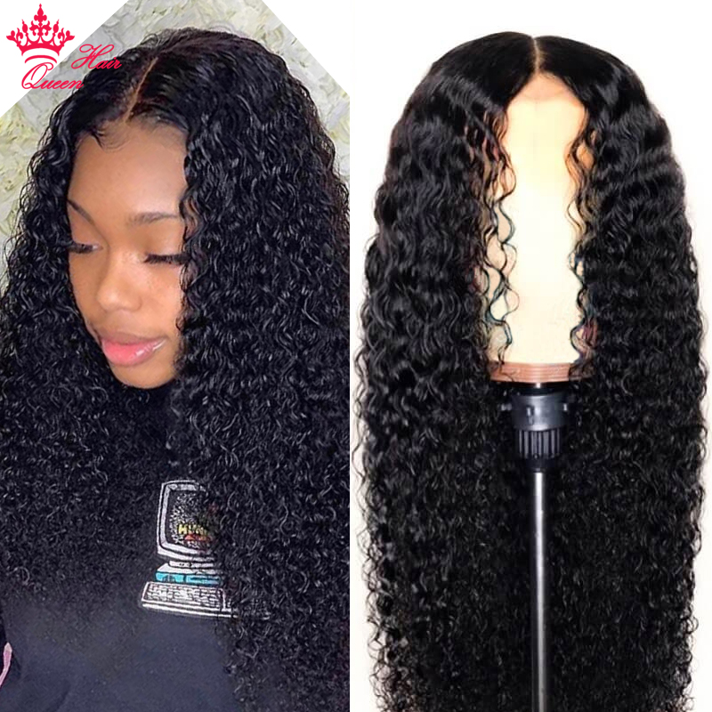 Deep Wave Wig Lace Front Human Hair Wigs Pre Plucked For Black Women Peruvian Remy Hair 13x4  Lace Frontal Wig Puruvian Wig