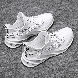 Image 2 - Fashionable plus size mens sports shoes light and breathable ladies running shoes high quality casual shoes mesh sports shoes