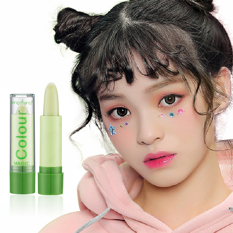 Color Change Temperature Lipstick Long Lasting Moisturizing Lips Care Lasting Waterproof Lip Moisturizing Lip Balm TSLM1 image