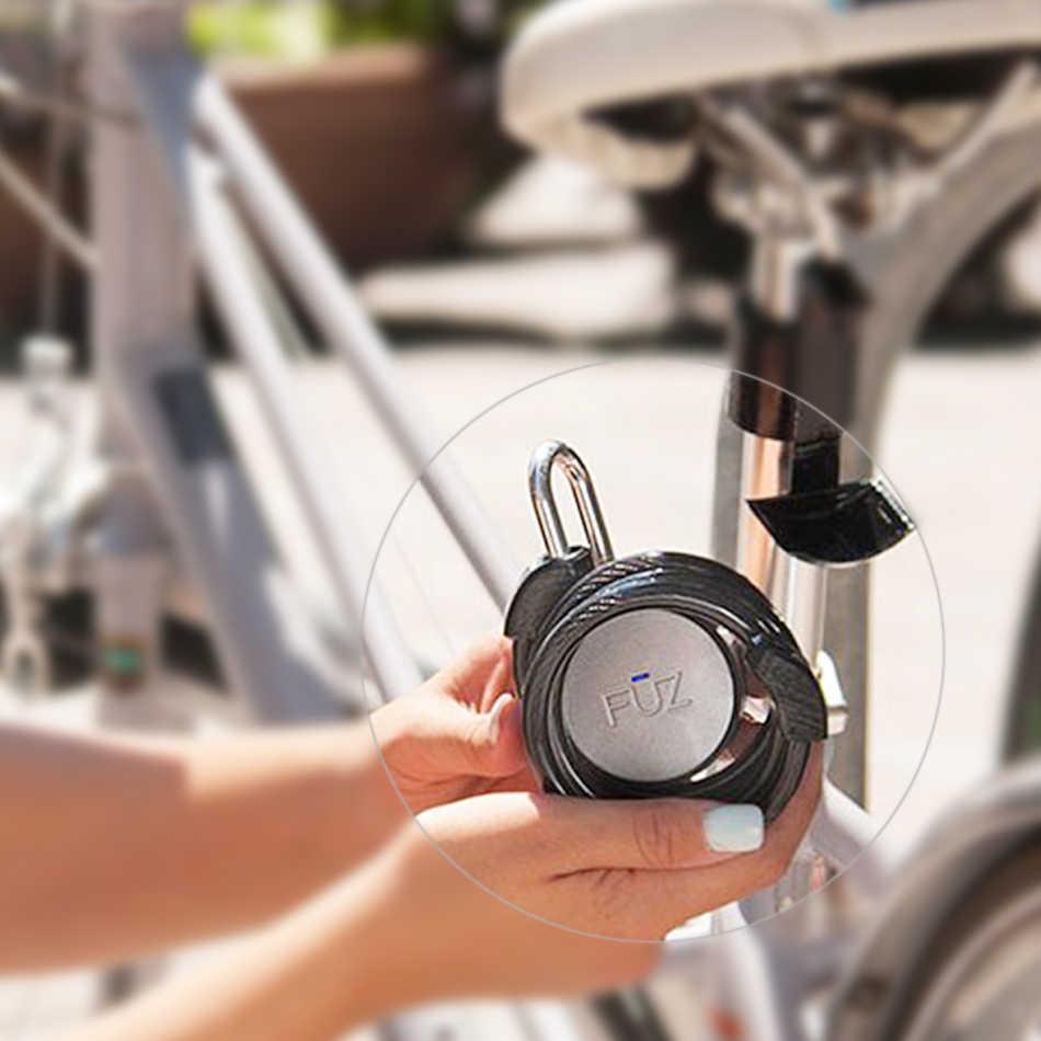 Умный Bluetooth-замок FUZ Noke, без ключа, с управлением через приложение iOS/Android