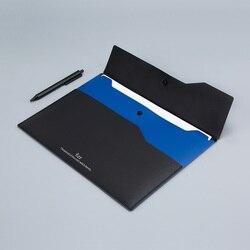 6 sztuk/zestaw Xiaomi Youpin Fizz zgłoszenia produktu A4 uchwyt na dokumenty organizator 2 warstwy aktówka walizka biznesowa biuro 3