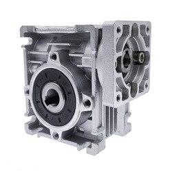 Редуктор скорости, червячный редуктор постоянного тока RV030, 14 мм, выход 5:1-80:1, редуктор скорости червячного редуктора для двигателя NEMA 23
