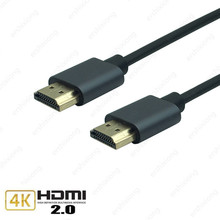 Aluminum alloy HDMI Cable M/M HDMI to HDMI 4k 2.0 Slim HDMI Cable for TV Laptop Projector PS3 PS4 Cable  0.5m 1m 1.5m 3m