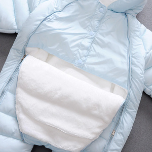 Image 5 - 2020 Spring Baby Girls Romper Warm Winter Kids Boy Jumpsuit Clothes Autumn Fleece Infant Onesies Unisex Newborn Overalls