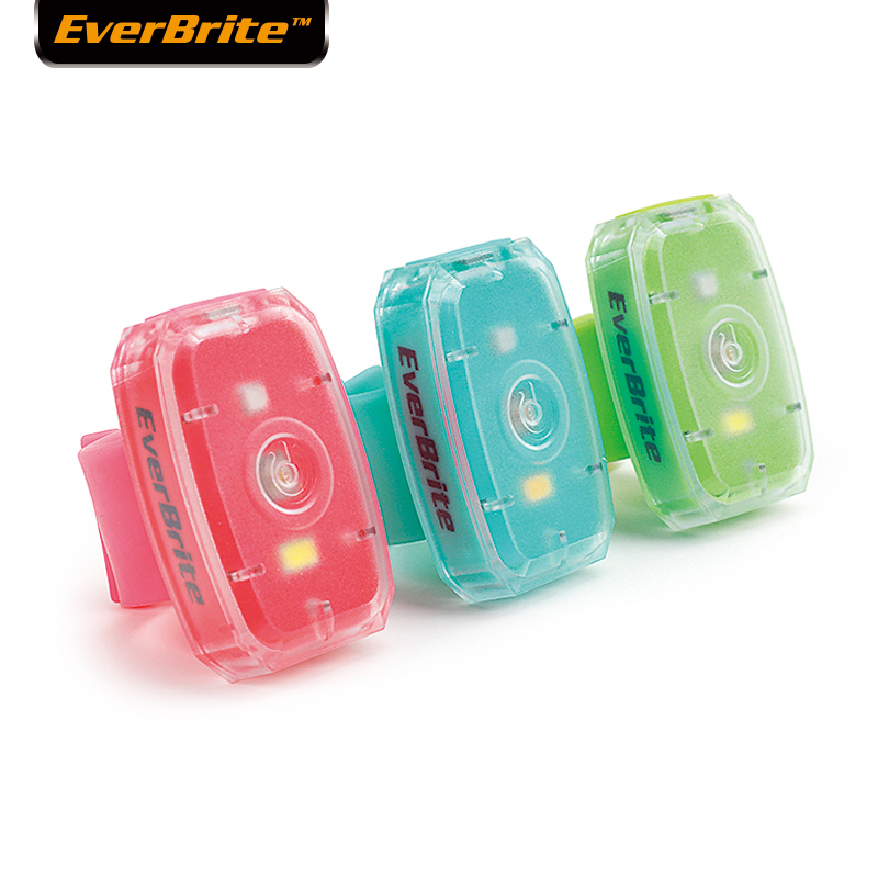EverBrite Bicycle Light USB Rechargeable LED Safety Light 3-pack Super Bright Bike Tail Light For Joggers Pets