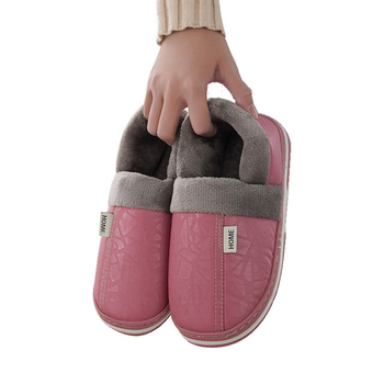 Faux Fur Winter Slippers Platform Women Fur Home Slippers Flat Shoe Fashion Fluffy Slides Ladies Shoes Women Footwear