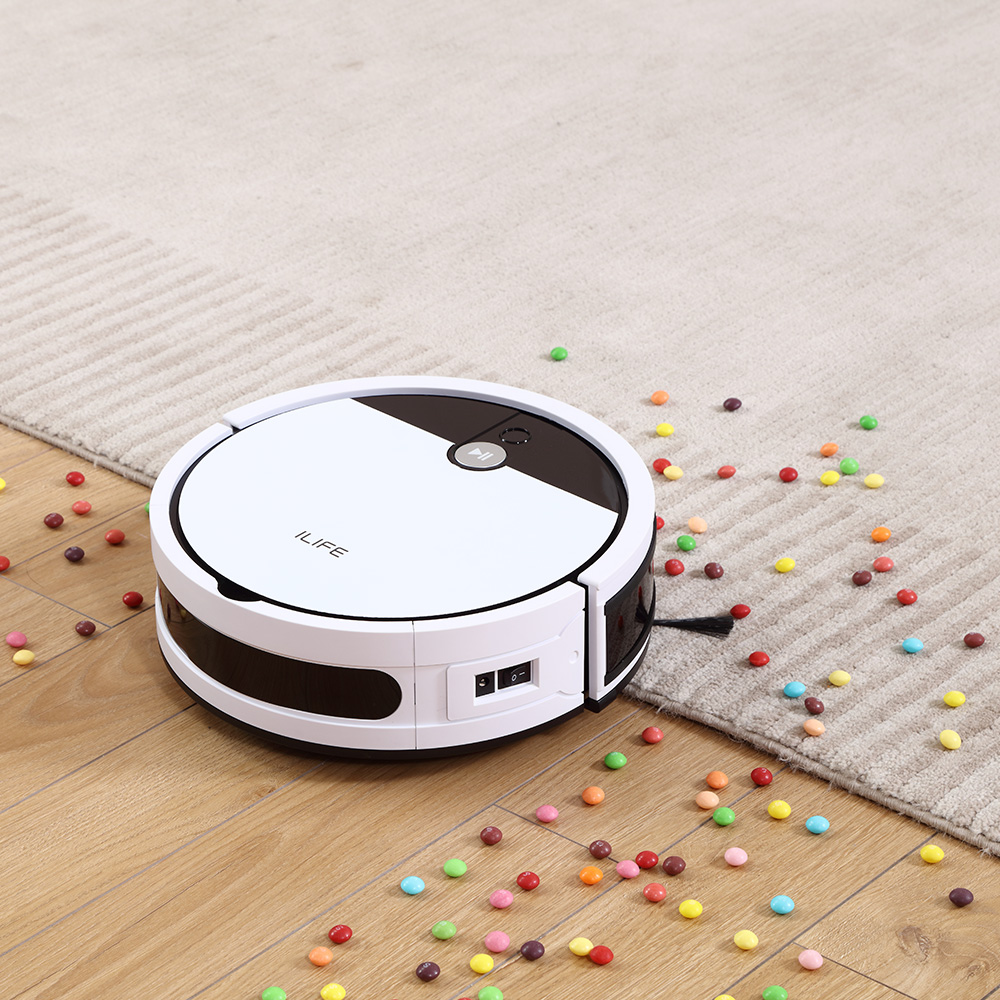 ILIFE V9e Robot Vacuum Cleaner Smart 700ML dust box WIFI App control Powerful suction 110 Minute Run Time 2