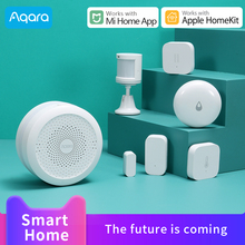 цена на Aqara Hub gateway 3 for Xiaomi Mi home App Mijia smart home Zigbee control door Sensor work with Apple Homekit