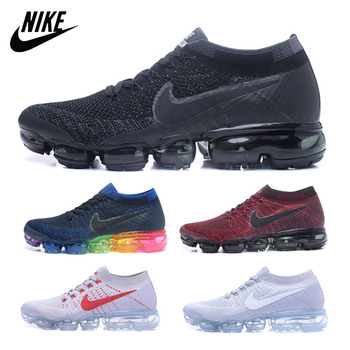 NIKE Air VaporMax Flyknit 2 Mens Running Shoes Original Women Sneakers Breathable Sports Low Top Athletic 849558-001 883275-400