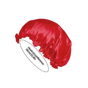 Однотонная Атласная шапочка для взрослых, ночнушка для сна, уход за волосами, ночнушка для мужчин и женщин, унисекс, 1 шт. Шапочки для душа      АлиЭкспресс