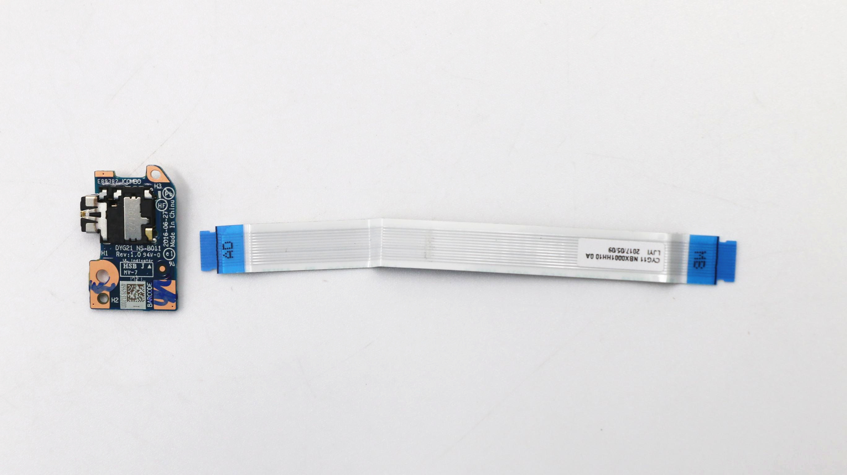 DYG21 NS-B011 для Ideapad Yoga 710-11IKB, аудиоплата для ноутбука с кабелем 5c50m42030