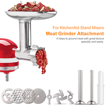 Improved Meat Grinder Attachement Meat Mincer Sausage Stuffer Accessories For Kitchen Stand Mixers Family Gift Kitchen Tools
