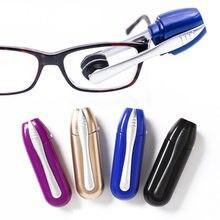 Mini óculos multifuncionais de dois lados escova de limpeza óculos de sol escova limpa manutenção profissional ferramenta de óculos limpos