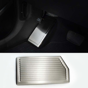 Image 2 - For Hyundai Tucson 2015 2016 2017 2018 2019 2020 No Drilling Stainless Steel Left Foot Rest Pedal Cover Non Slip Pad Accessories