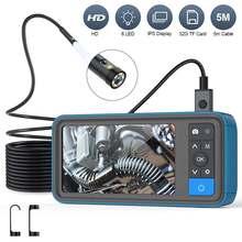 Инспекционная камера 8 мм с двойным объективом эндоскоп 1080p