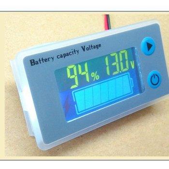 strong Import List strong Uniwersalny 10-100V LCD Car Acid Lead wskaźnik pojemności baterii litowej woltomierz cyfrowy Tester napięcia Monitor JS-C33 tanie i dobre opinie CN (pochodzenie) Other 0 02kg Battery Capacity Indicator Voltage Monitor 61 5mm x 33 5mm x 13 5mm 58 5mm x 28 5mm 36mm x 19 5mm