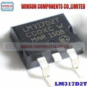 Image 1 - 50PCS/LOT LM317D2T TO 263 LM317 Brand New Original