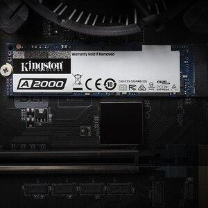 Image 2 - קינגסטון חדש A2000 NVMe PCIe M.2 2280 SSD 250GB 500GB 1TB הפנימי דיסק קשיח SFF עבור מחשב נייד Ultrabook