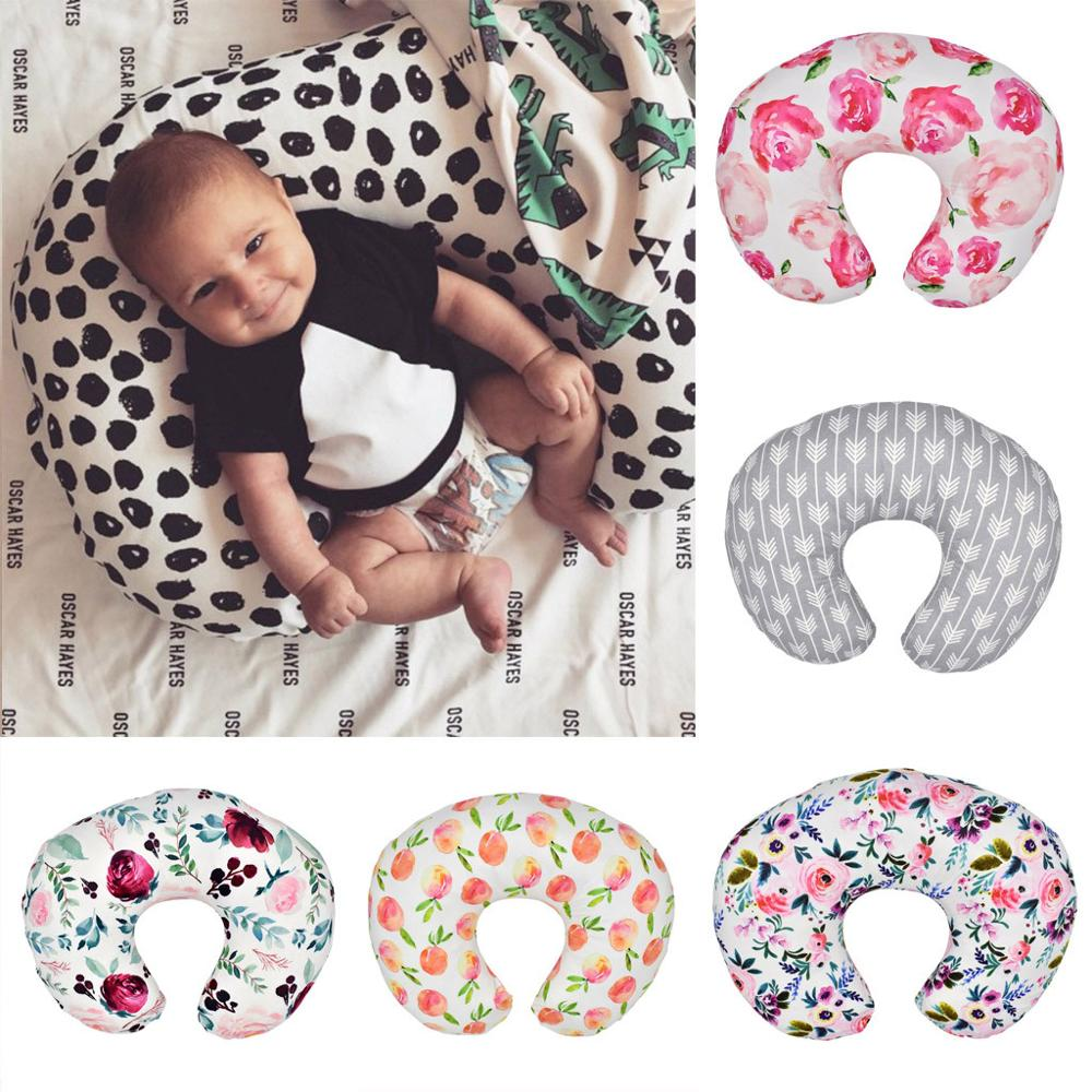 Nursing Baby Pillow Cover Newborn Infant Baby Breastfeeding Pillow Cover Nursing Slipcover Maternity Baby U-Shaped Breastfeeding