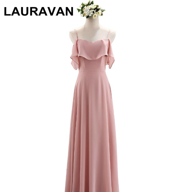 Womens Plus Size Chiffon Brides Maid Ladies Bridesmaid Robes Long Dresses Formal Blush Bridal Party Dress Gown For Wedding Guest