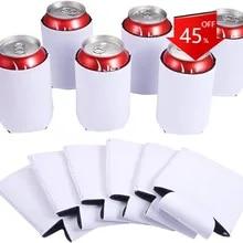 10x Tasse Ärmel Neopren Bierdosen Kühler Getränkeflaschenhalter Isolator
