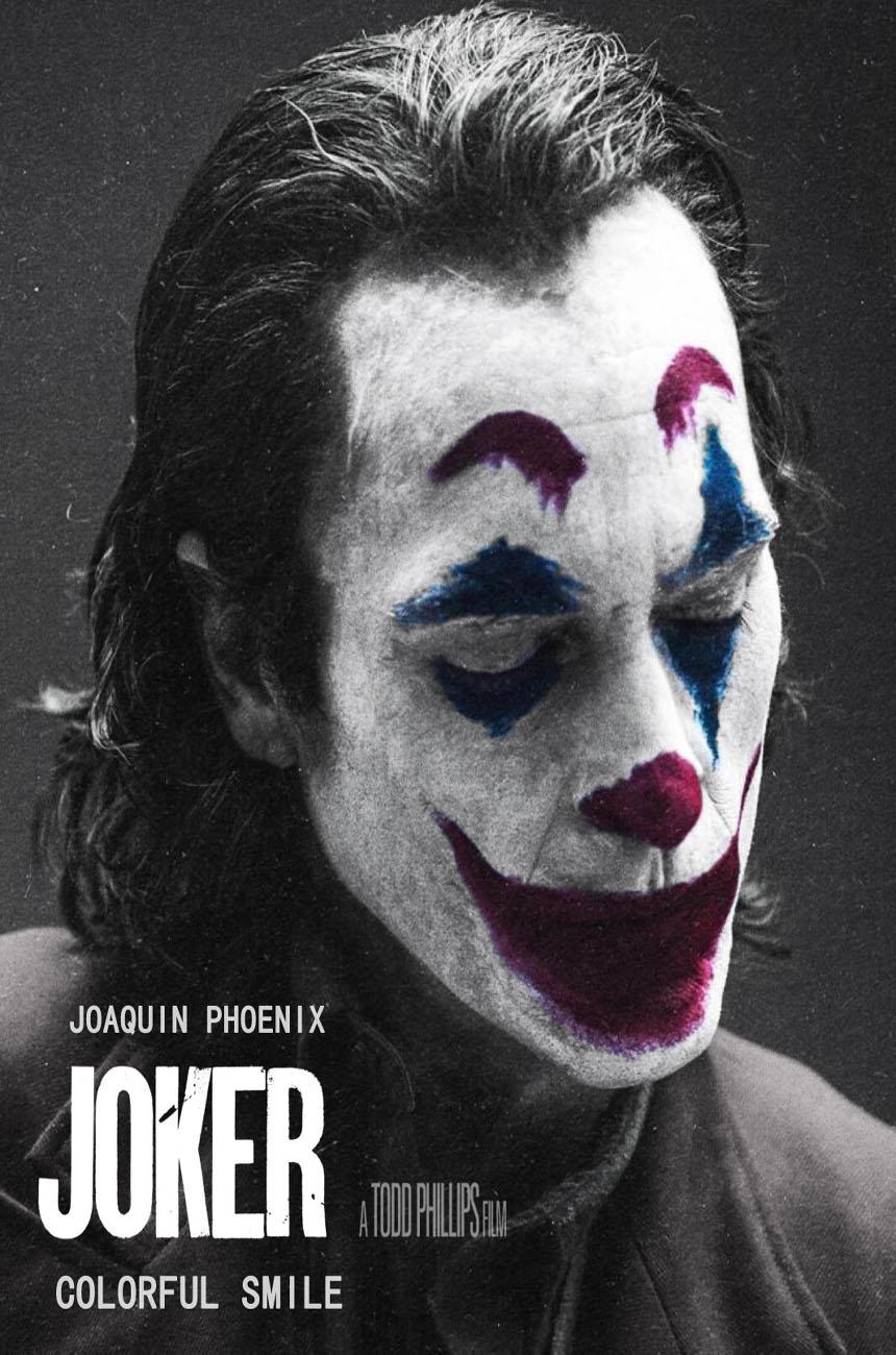 THE JOKER JOAQUIN PHOENIX MOVIE Art Silk Poster 8x12 12x18