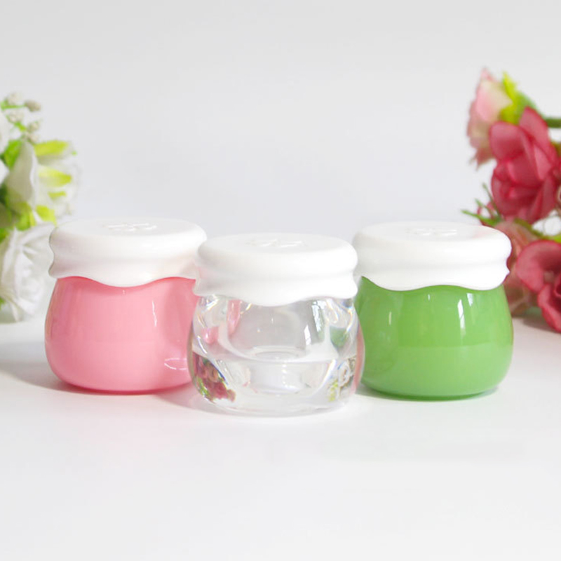 10g Portable Refillable Bottles Travel Face Cream Lotion Cosmetic Container Acrylic Empty Makeup Jar Box
