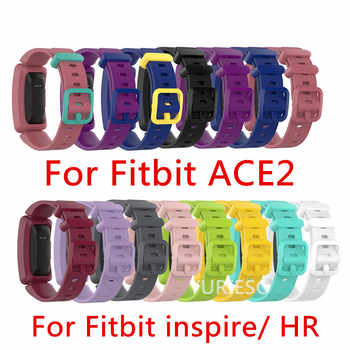 100PCS Silicone Wristband Strap Bracelet For Fitbit Inspire / Inspire HR Fitbit ace 2 ACE2 Smartwatch Replacement Watch Band - SALE ITEM Consumer Electronics