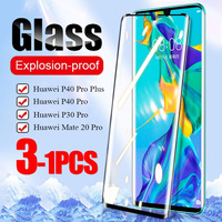 21D vidrio templado para Huawei Mate 30 20 Lite P20 P30 P40 Pro Plus Protector de pantalla completa P Smart Z 2018 Y6 2019 P 40 película