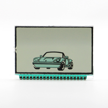LCD for CENMAX ST-5A Two way LCD Remote Control Key Chain Fo