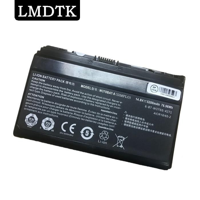 LMDTK NEW LAPTOP BATTERY FOR Hasee W370BAT-8  K590S K650C K750S K760E