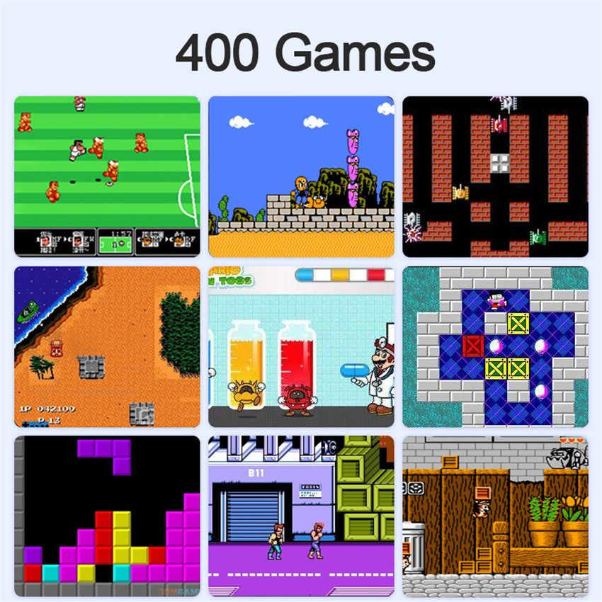 Data Kikker Mini 8 Bit Handheld Game Console 2 Speler Gamepad Ingebouwde 400 Games 3.0 Inch Retro Video handheld Player Game Console