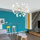 Moderna Lampada A Sospensione LED Firefly Ramo di Un Albero Del Pendente Decorativa Apparecchio di Illuminazione A Soffitto Lampada a Sospensione Luce G4 Lampadine Incluse