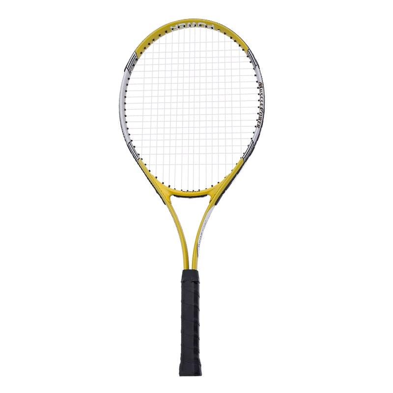 Outdoor Sporting Goods Aluminum Tennis Racket Single Beginner Trainer Double Set With Line Rebound Self Training Tennis Bag