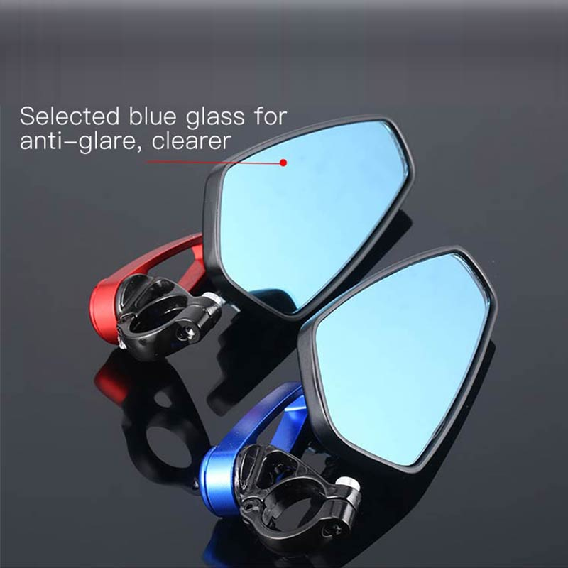 Motorcycle Mirror Handlebar End Side Rearview Mirrors Cafe Racer For SUZUKI Gsf 600 Ltr 450 Gsxs 1000 M109R Dr 350 Gs 500 Gn 125