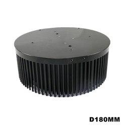 COB CREE CXB3590 Bridgelux Vero29 gen7 Citizen clu058 1825 disipador de calor LED aluminio 180mm pin fin preperforado 100w disipador térmico