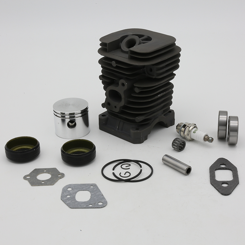 Cylinder Piston Crank Bearing Seal Kit Fit For Jonsered CS2137 CS2138 2035 For Poulan 2375 1950LE 1975 Woodshark 42cc Chainsaw