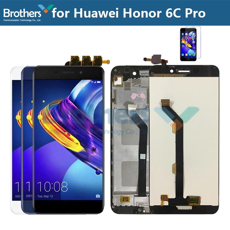 ЖК-дисплей для Huawei Honor 6C Pro, сенсорный экран с дигитайзером в сборе для Honor 6C Pro LCD JMM-L22 AL10 AL00 LCD без логотипа